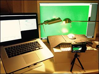 Mouse lag camera testing