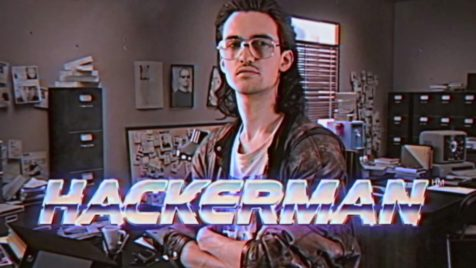 Hackerman from Kung Fury