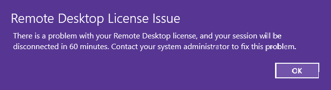 Windows Server 2019: Remote Desktop License Issue with User CALs
