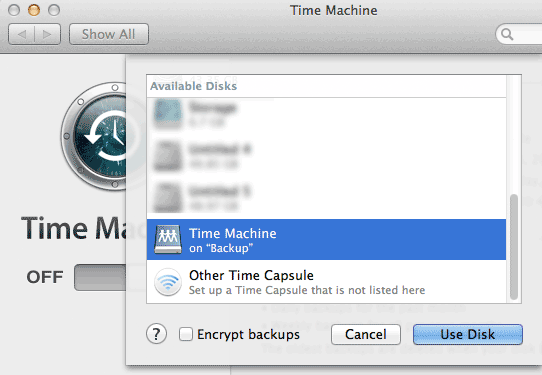 time-machine-available-disks